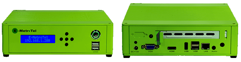 EMetrotel UCx20 phone system